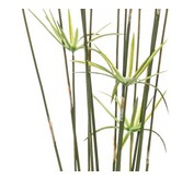 Kunst grasplant Cyperus 120 cm groen