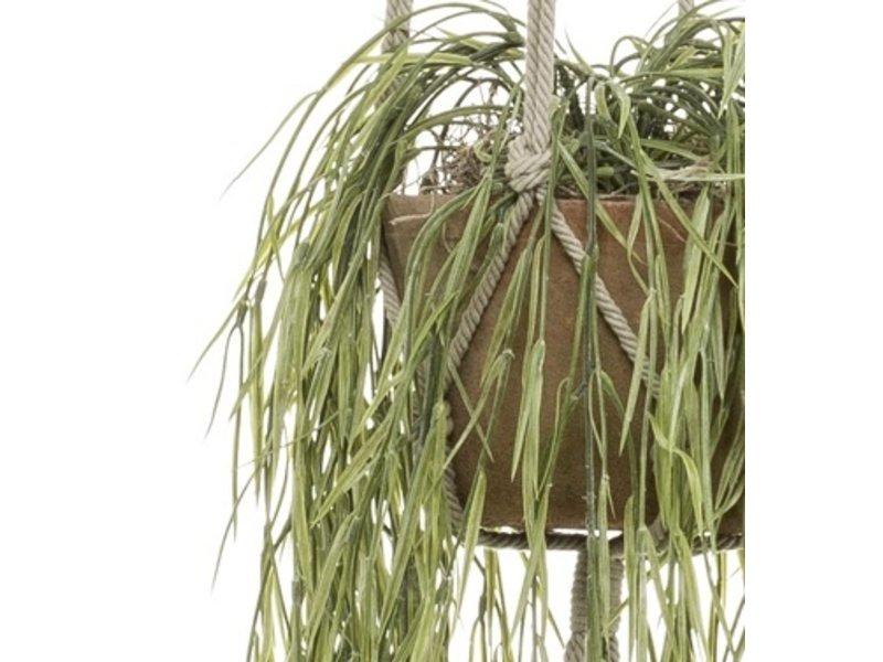 Kunst hangplant Hoya XL 85 cm in pot