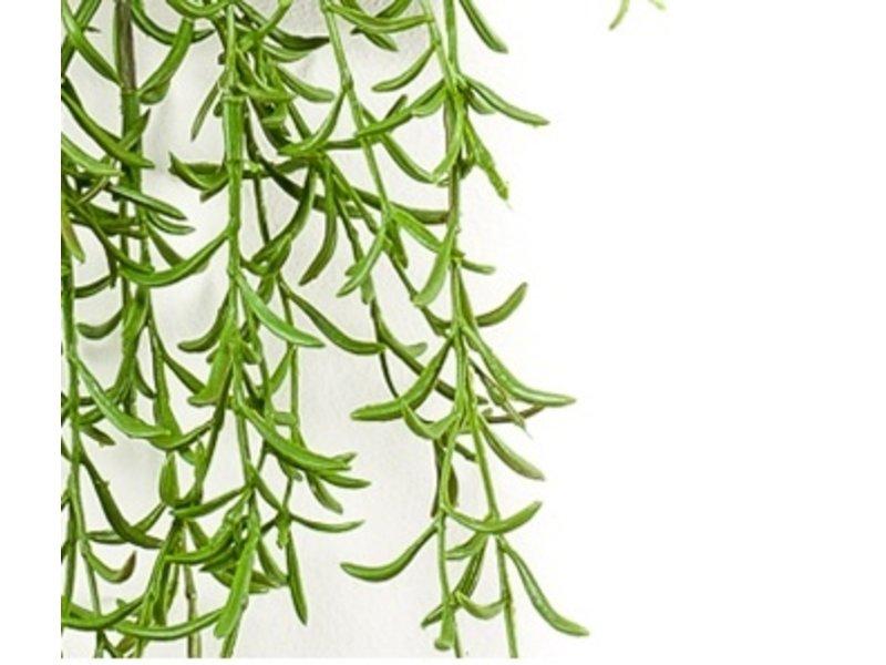 Kunst hangplant Hoya 90 cm