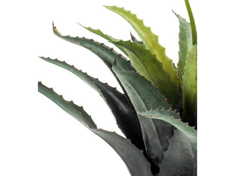Kunstplant Agave 29 cm in pot
