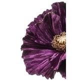 Kunstbloem Poppy 68 cm paars