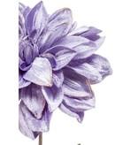 Kunstbloem Dahlia 55 cm lila