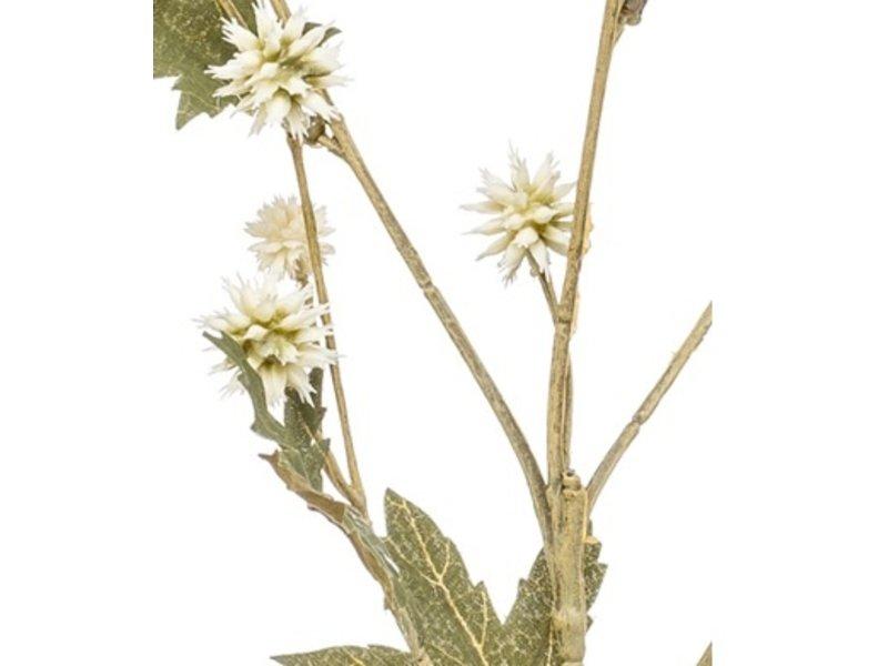 Kunstbloem Sanicula 65 cm crème