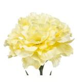 Kunstbloem Anjer 67 cm geel