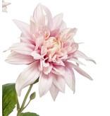 Kunstbloem Dahlia 65 cm paars