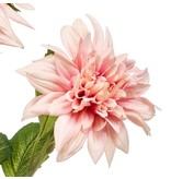 Kunstbloem Dahlia 65 cm roze