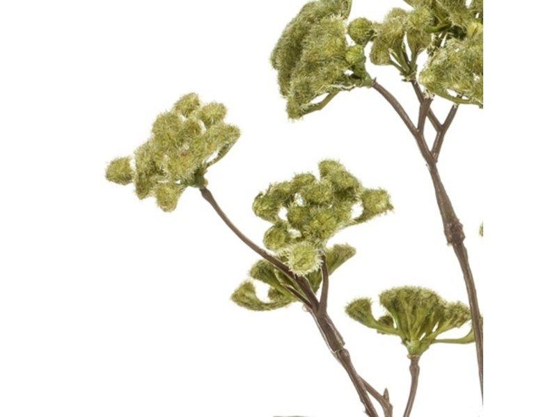 Kunstbloem Koninginnenkruid 62 cm groen