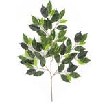 Kunstblad Fat Ficus 75 cm groen brandvertragend