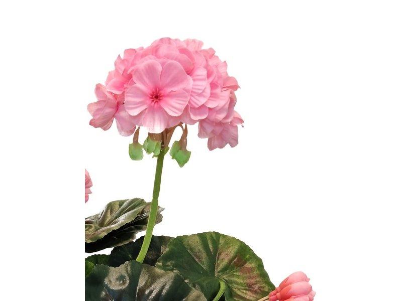 Kunstbloem Geranium Roze 40 cm