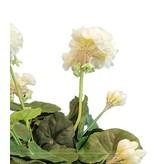 Kunstbloem Geranium Wit 40 cm