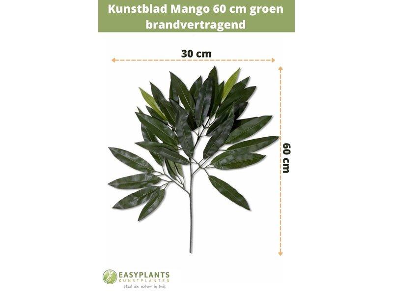 Kunstblad mango 60 cm