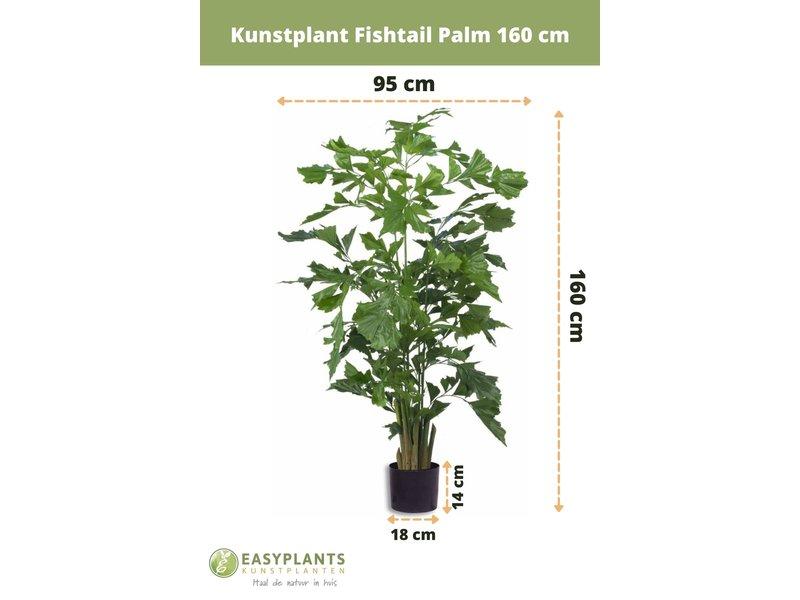 Kunstplant Fishtail Palm 160 cm