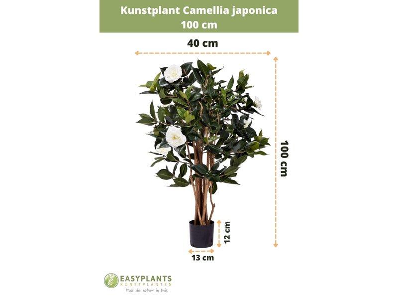 Kunstplant Camellia japonica 100 cm