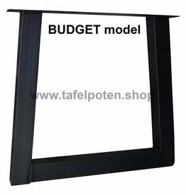 Tafelpoten.shop Stalen tafelpoot trapezium budget