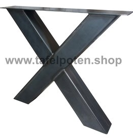 Tafelpoten.shop Industriële kruispoten 12x12 cm