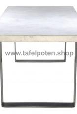 Tafelpoten.shop Stoere industriele strip poten gemaakt uit strip 12x1, los verkrijgbaar - Copy