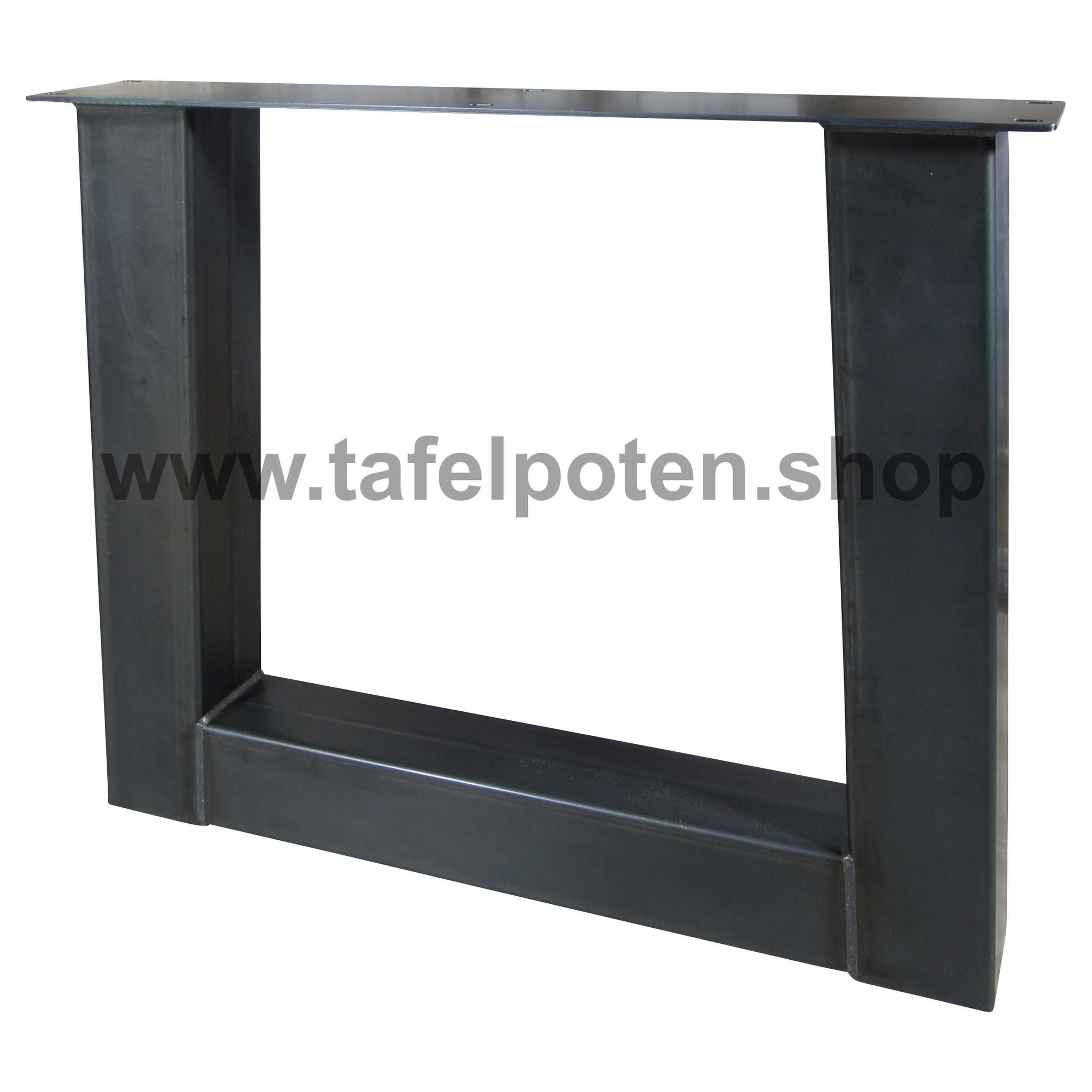 Tafelpoten.shop Robuuste trapezium tafelpoten, industriële tafelpoten voor een stoere tafel