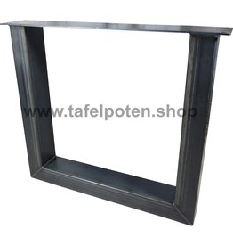 Tafelpoten.shop Industriële U tafelpoten 12x8 cm