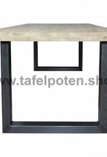 Tafelpoten.shop De stalen U tafelpoten geven uw eettafel de echte industriële look