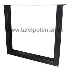 Tafelpoten.shop Industriële U tafelpoten 8x6 cm