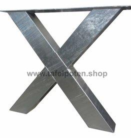 Tafelpoten.shop Verzinkte kruispoten 12x12