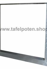 Tafelpoten.shop De verzinkte U tafelpoten geven uw tuintafel de echte industriele look