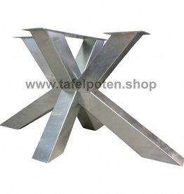 Tafelpoten.shop Verzinkt tafelonderstel Matrix tafelpoot