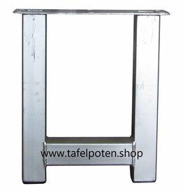 Tafelpoten.shop Verzinkte bankpoot model H