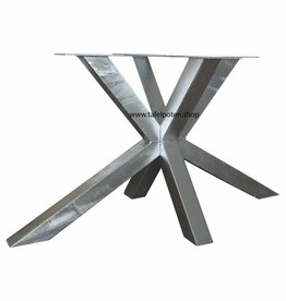 Tafelpoten.shop Verzinkt tafelonderstel Matrix 8x8 tafelpoot