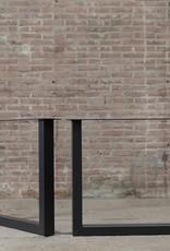 Nordstahl Stalen U tafelpoten 8x6 cm Nordstahl