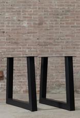 Nordstahl Tafelpoten in een trapezium model, los verkrijgbaar