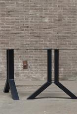 Nordstahl Stalen Split tafelpoot Nordstahl zwart gepoedercoat