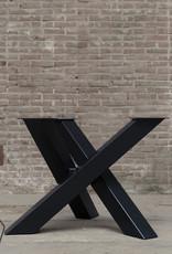 Nordstahl Stalen tafelonderstel twist rond 12x12 cm Nordstahl