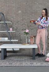 Nordstahl Schuine stalen salontafel poten ideaal voor het maken van een industriele salontafel, model trapezium