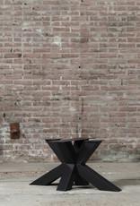 Nordstahl Stoere, stalen salontafelpoot matrix  gemaakt uit kokers 8x8 cm, los verkrijgbaar