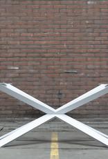 Nordstahl Witte stalen Spider tafelpoot