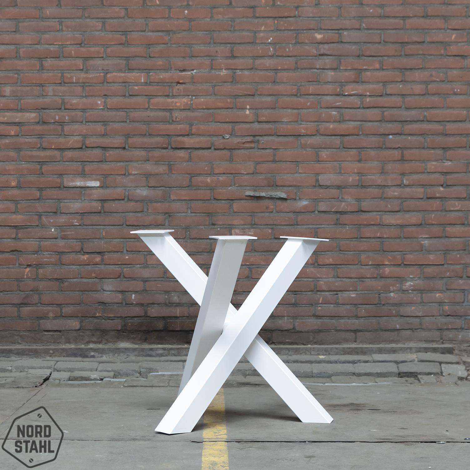Nordstahl Witte Twist rond tafelpoot 8x8 cm