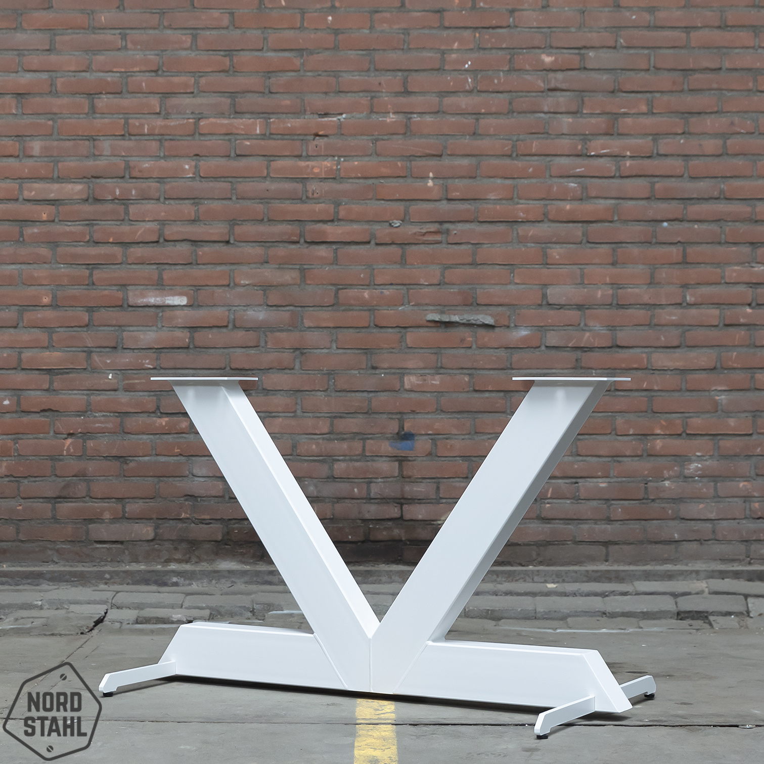 Nordstahl Witte V tafelpoot