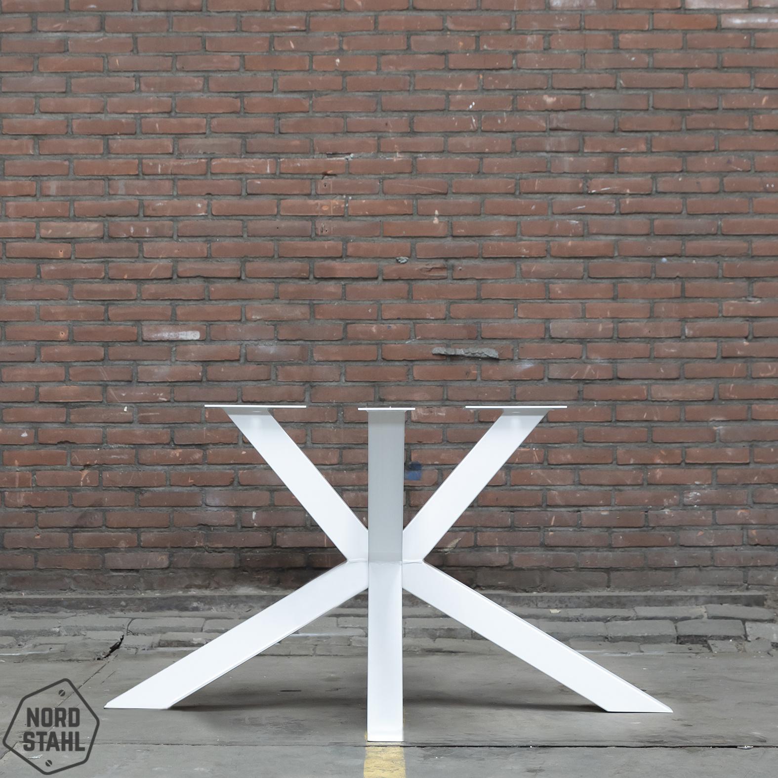 Nordstahl Wit tafelonderstel Matrix tafelpoot