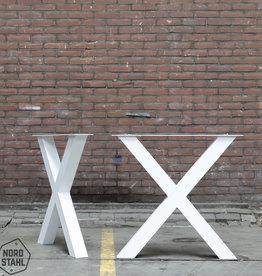 Nordstahl Witte kruispoten 8x8 cm
