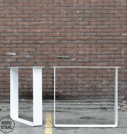 Nordstahl Witte strip poten 12 x 1 cm