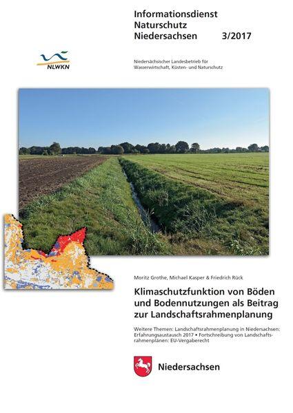 Klimaschutzfunktion von Böden und Bodennutzungen als Beitrag zur Landschaftsrahmenplanung (3/17)