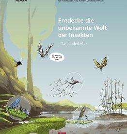 Entdecke die unbekannte Welt der Insekten - Das Kinderheft
