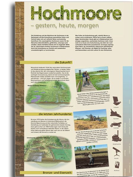 HOCHMOORE - GESTERN, HEUTE, MORGEN