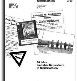 90 JAHRE AMTLICHER NATURSCH. NDS. (3/99)
