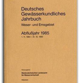 DGJ WESER-EMSGEBIET 1985