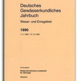 DGJ WESER-EMSGEBIET 1990