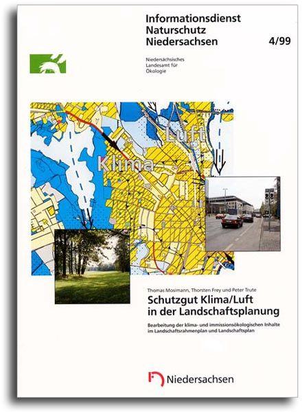 SCHUTZGUT KLIMA/LUFT IN DER LANDSCHAFTSPLANUNG (4/99)