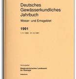 DEUTSCHES GEWÄSSERKUNDLICHES JAHRBUCH WESER-EMSGEBIET 1991