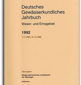DGJ WESER-EMSGEBIET 1992